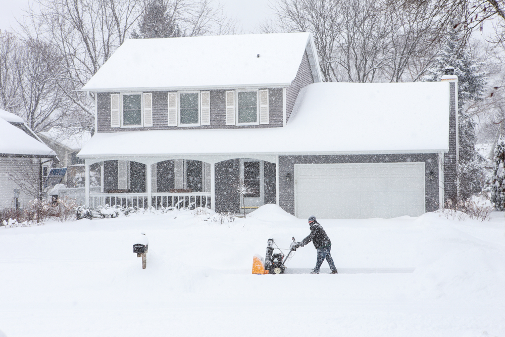 Keep your home safe this winter by cleaning up the extra snow!